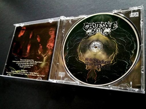 Grotesque Deity - At the Blackest Way to Death