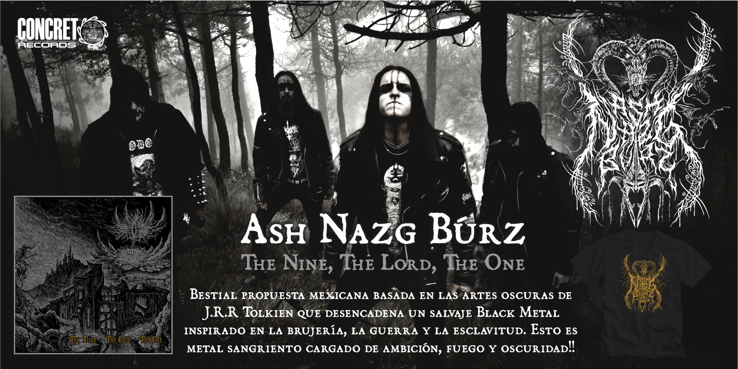Ash Nazg Búrz - The Nine, The Lord, The One