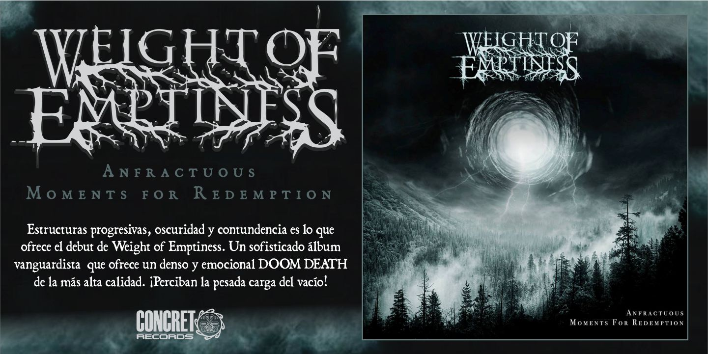 Weight of Emptiness - Anfractuous Moments for Redemption