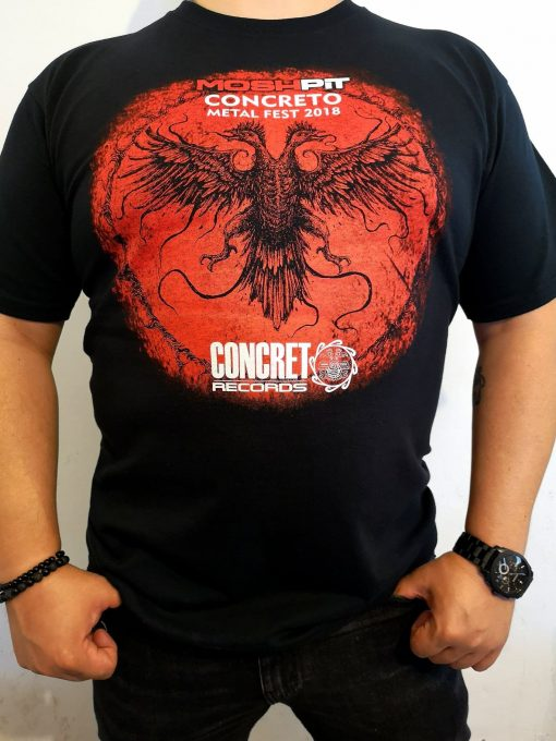Concreto Metal Fest 2018 (Playera)