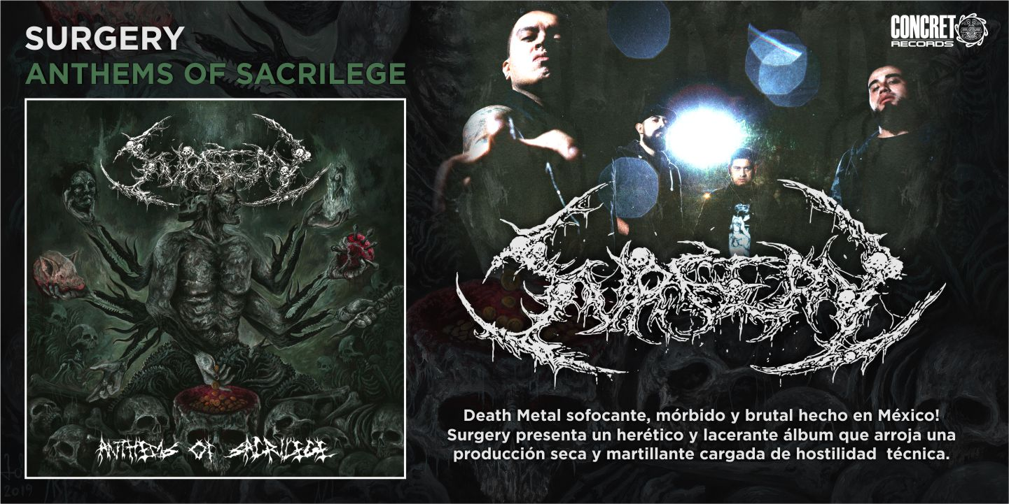 Surgery - Anthems Of Sacrilege