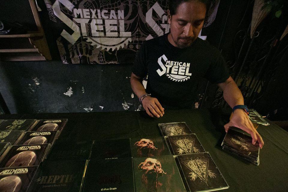 Ivan SL en las Concreto Metal Sessions de Puebla.