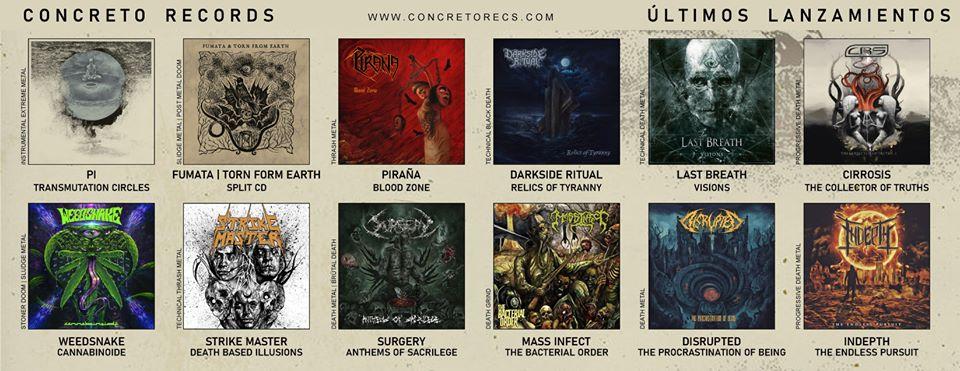 Más recientes lanzamientos de Concreto Records