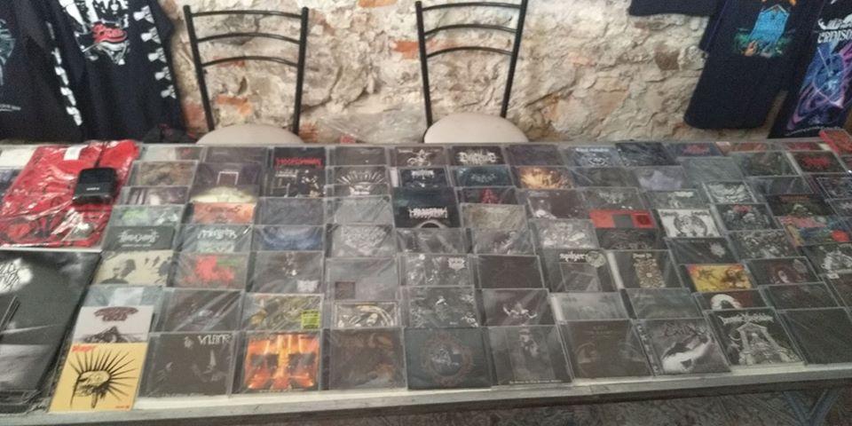Stand de Vomit Records