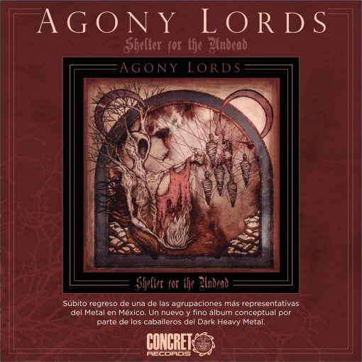 Agony Lords - Shelter for the Undead