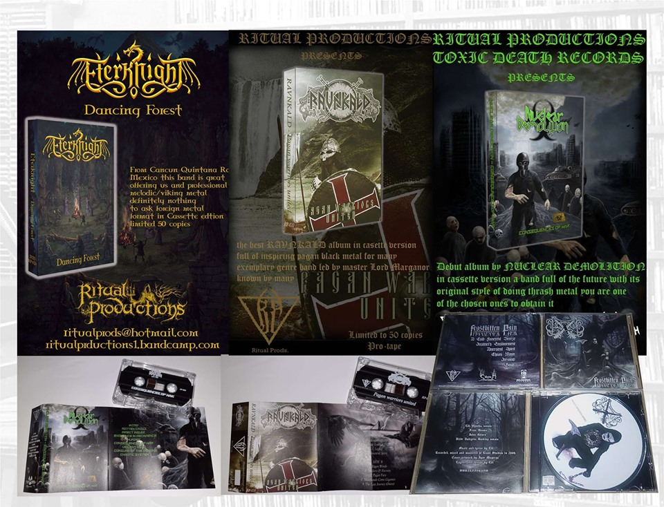 Productos de Ritual Productions