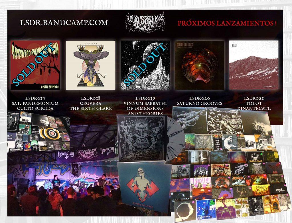 Eventos, ediciones y productos de LSDR Records