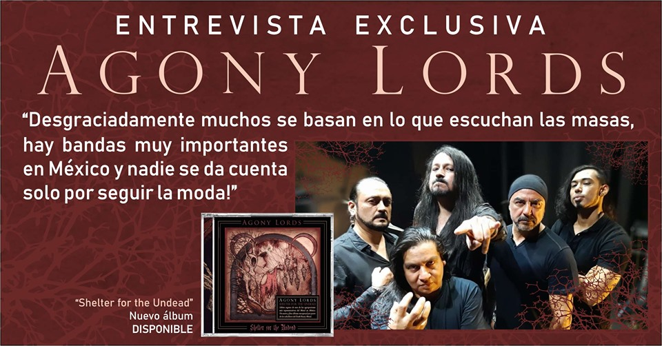ENTREVISTA AGONY LORDS