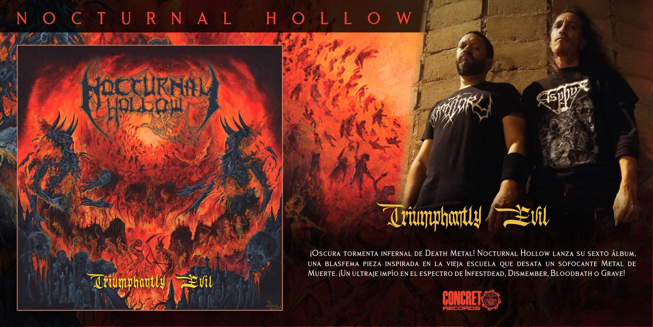 Nocturnal Hollow - Triumphantly Evil - SLIDER