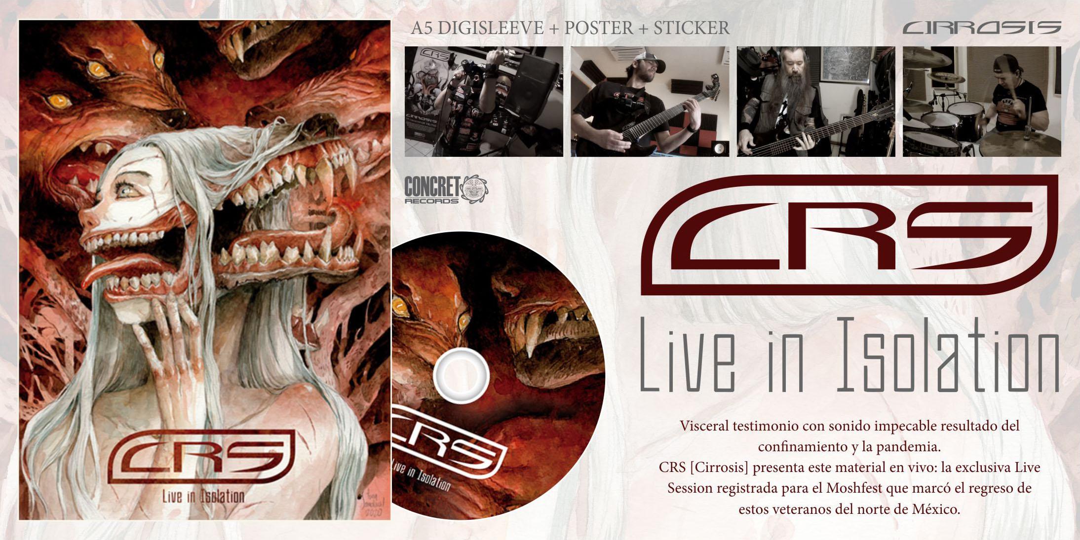 Slider CRS - Live in Isolation