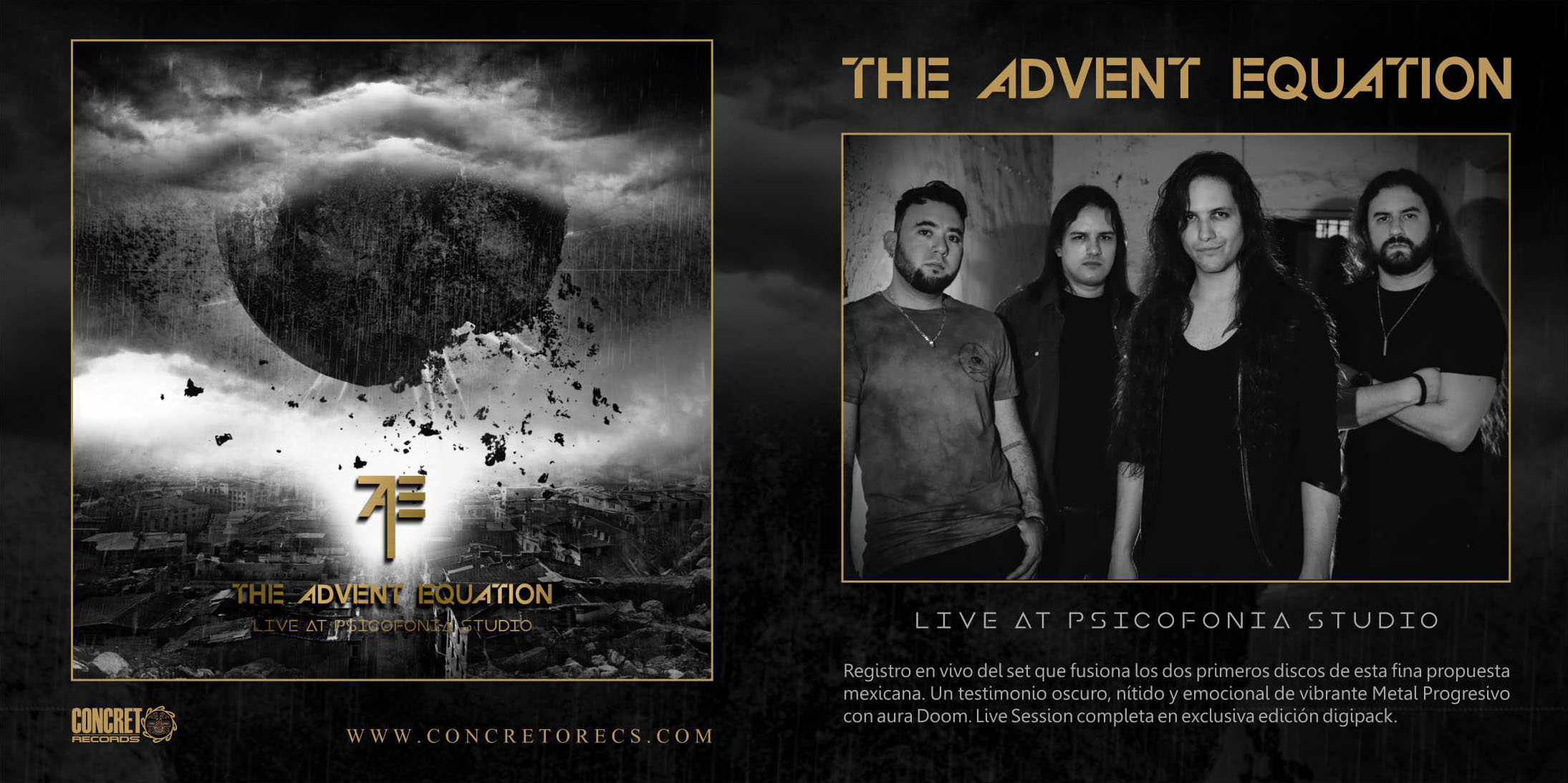 Slider - The Advent Equation - Live at the Psicofonia Studio