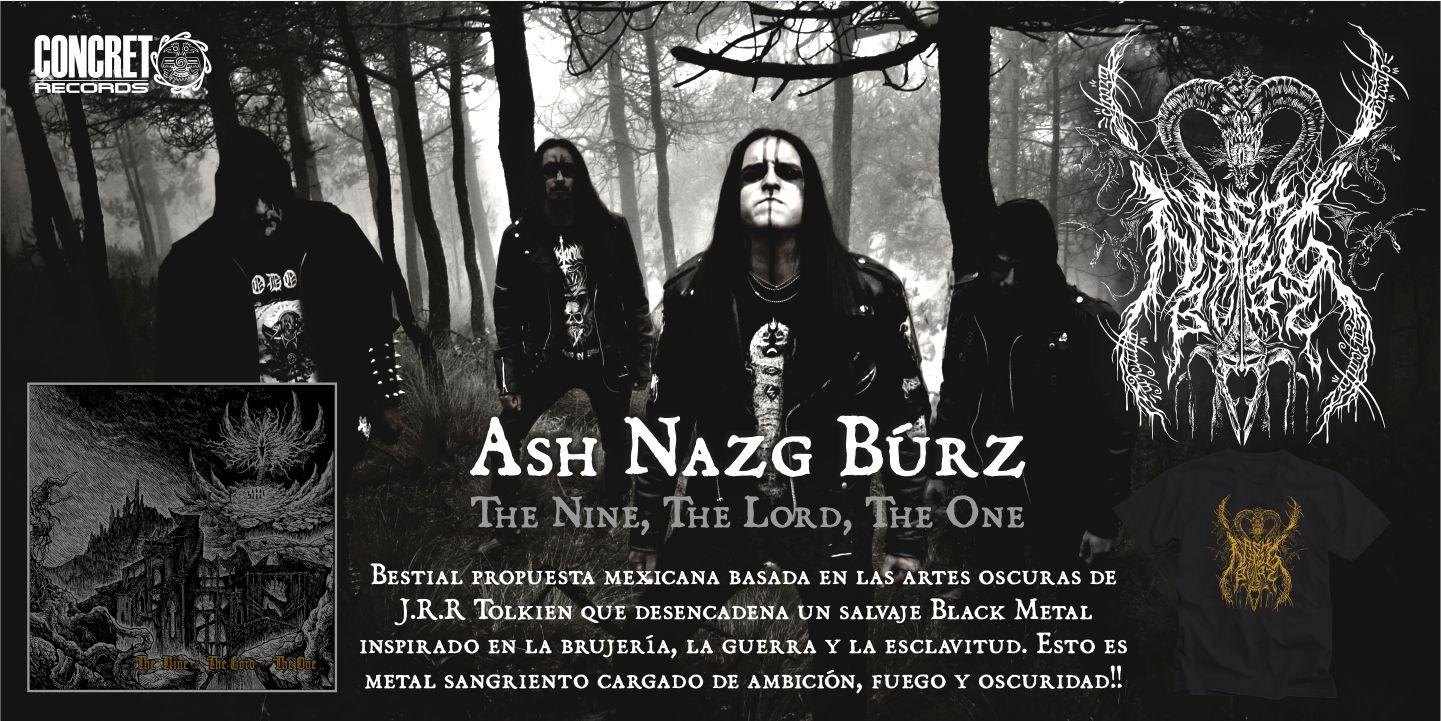 Ash Nazg Búrz - The Nine, The Lord, The One