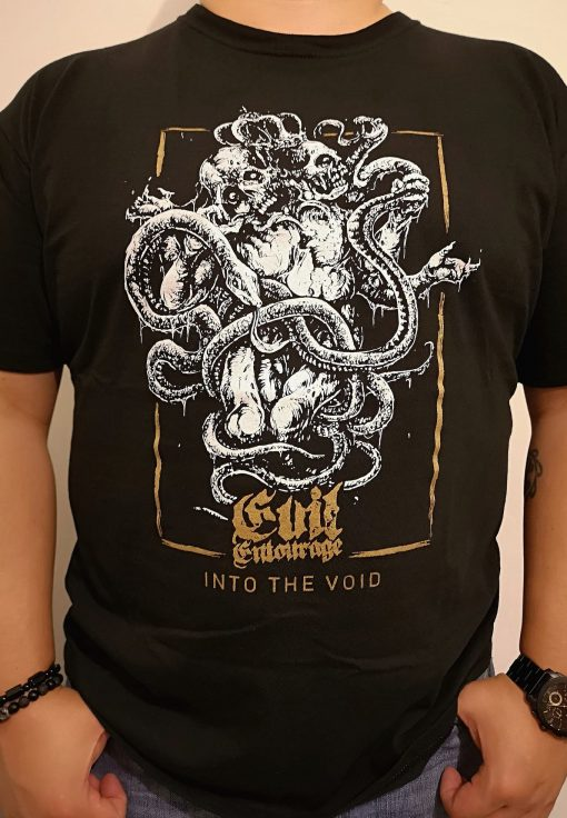 Evil Entourage - Into the Void (Playera)