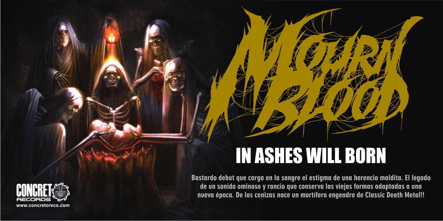 Mourn Blood - In Ashes Will Born