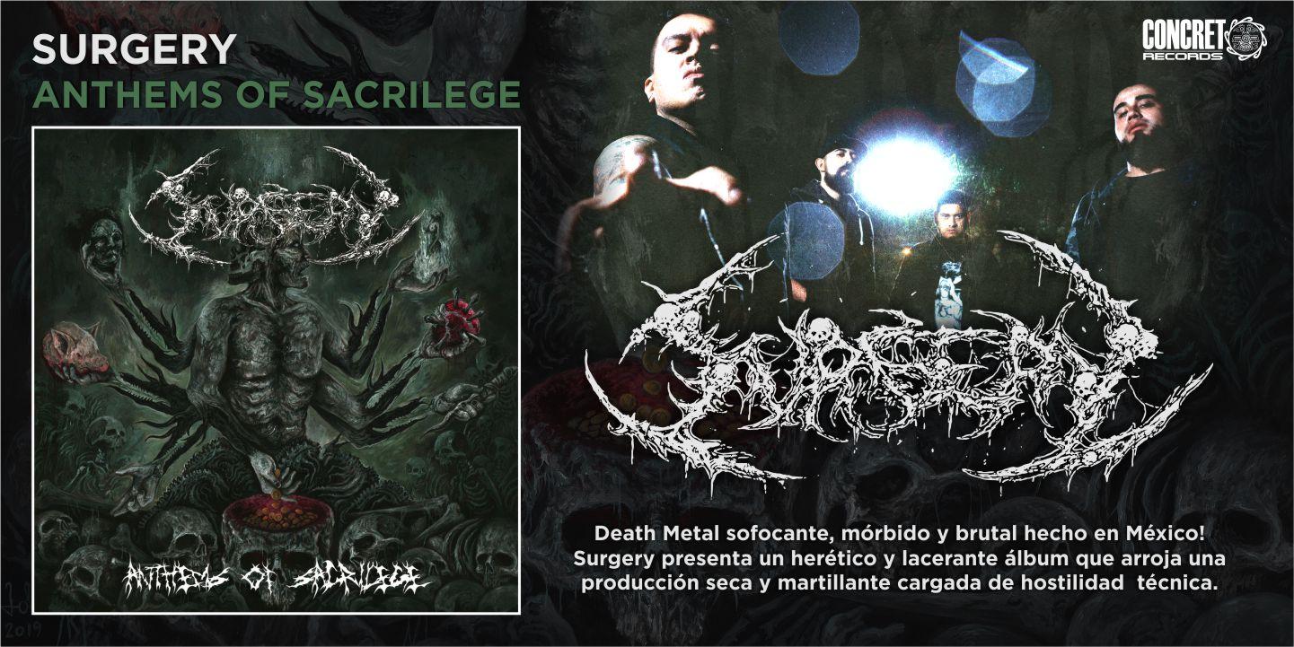 Surgery - Anthems Of Sacrilege