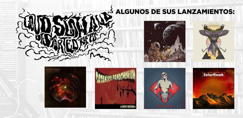 Algunos lanzamientos de LSDR Records