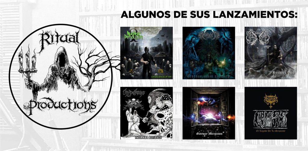 Algunos lanzamientos de Ritual Productions