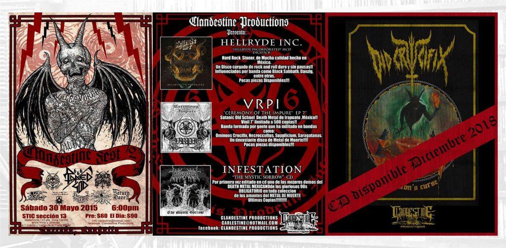 Ediciones y eventos de Clandestine Productions