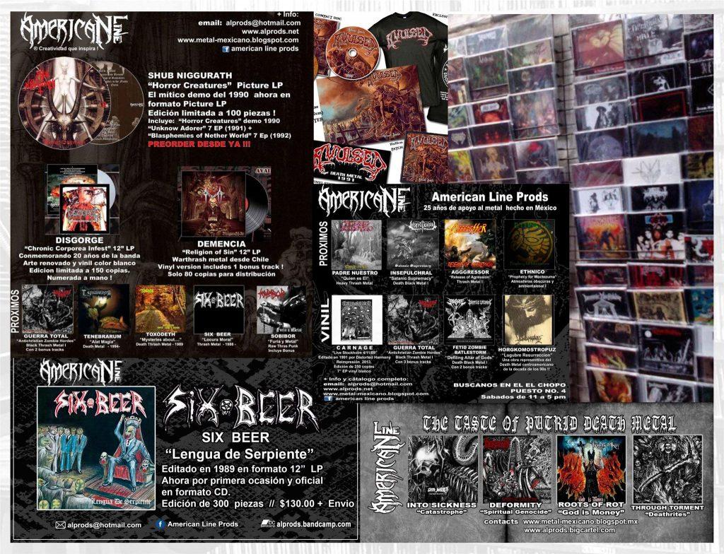 Ediciones y stand de American Line Productions