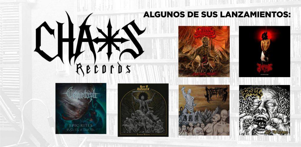 Algunos lanzamientos de Chaos Records
