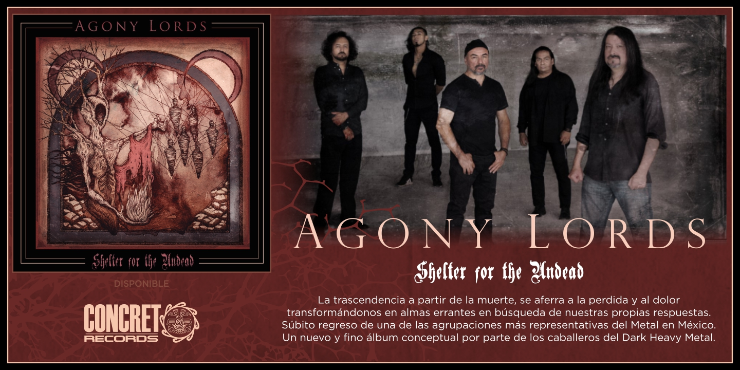 """Agony Lords """"Shelter for the Undead"""""""
