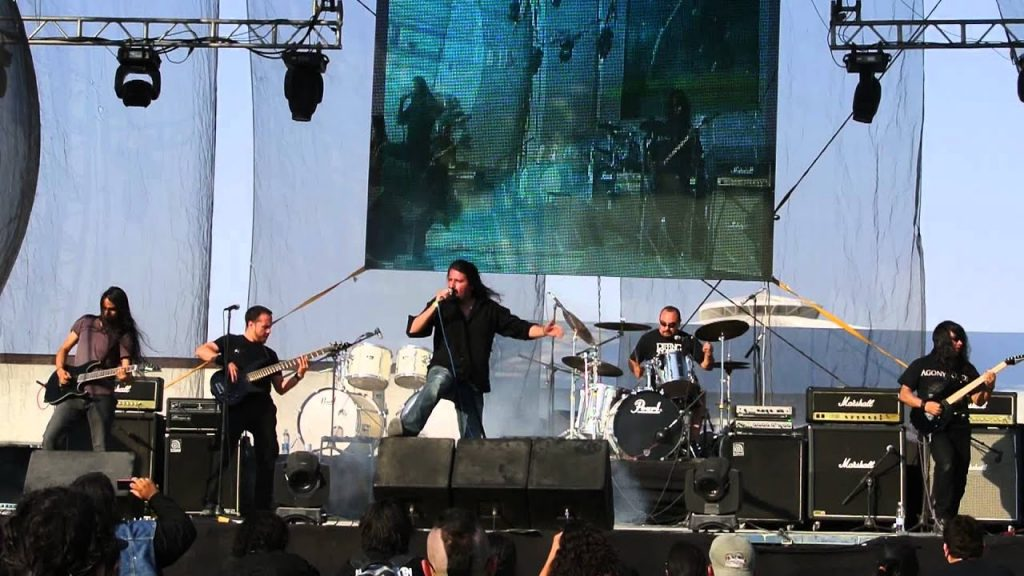 Agony Lords en vivo en el Hell & Heaven