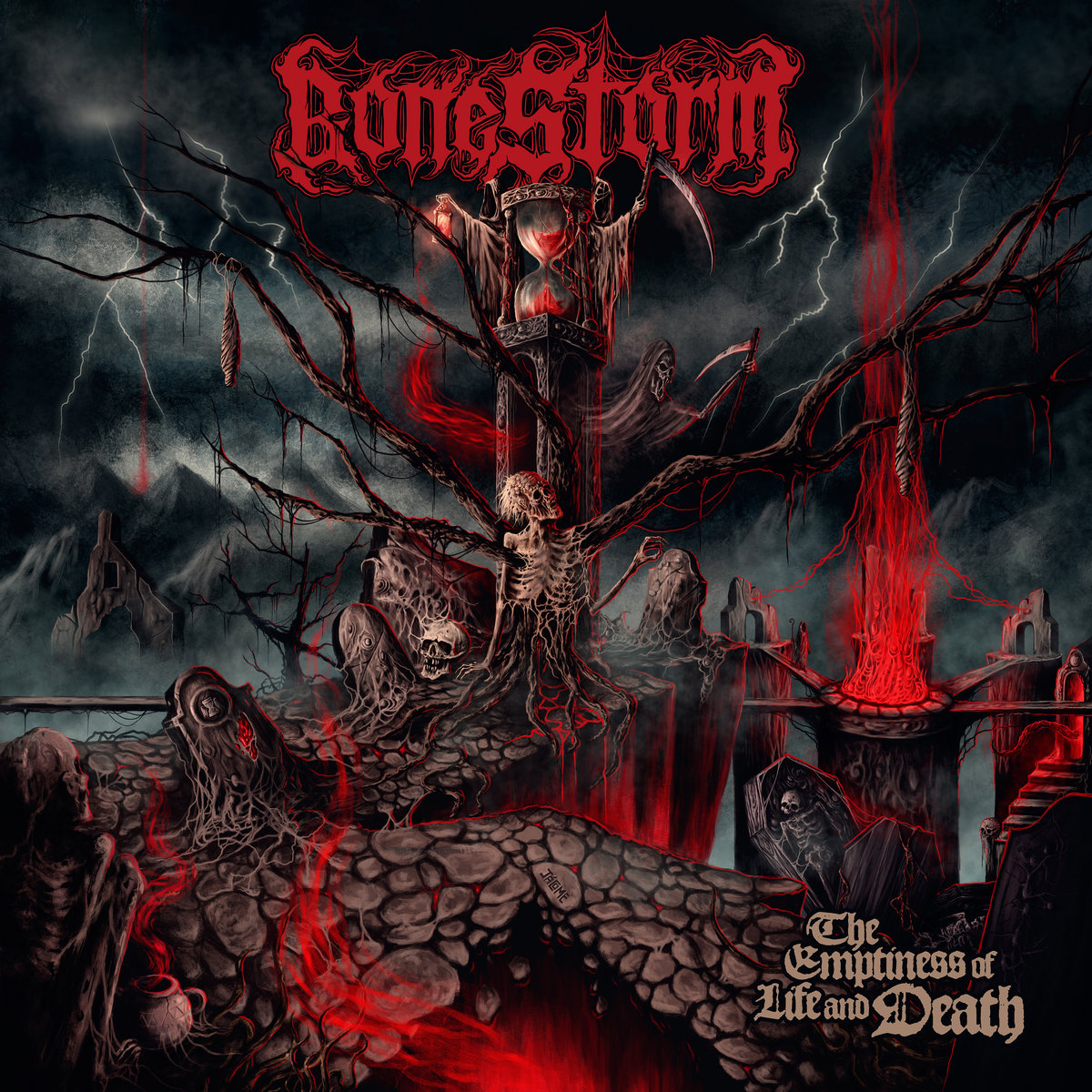 Bonestorm - The Emptiness of Life and Death